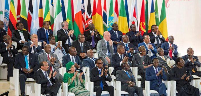 Zoom sur l'organisation de sommets sur l'Afrique