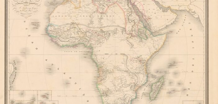 Afrika'ya masabaşında çizilen sınırlar